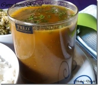 Curry leaves Rasam