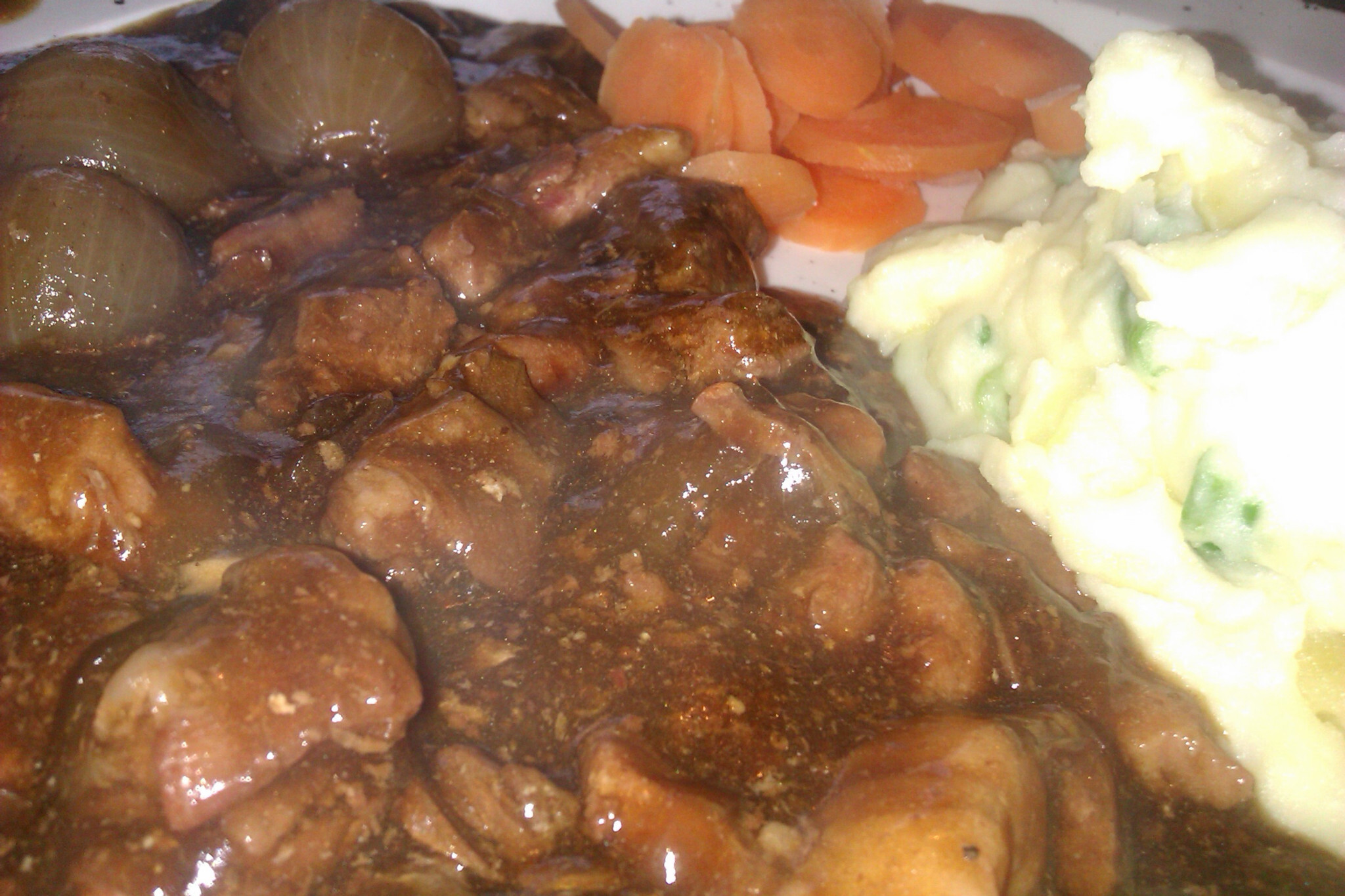 Beef, Bacon and Guinness Casserole