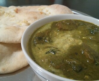Lamb Saagwala (Lamb and Spinach Curry)