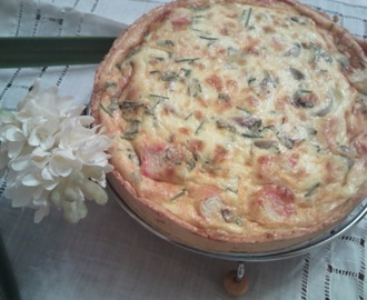 Quiche de Delicias do mar