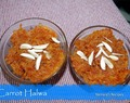 Carrot Halwa - Bollywood's Favorite Dessert!