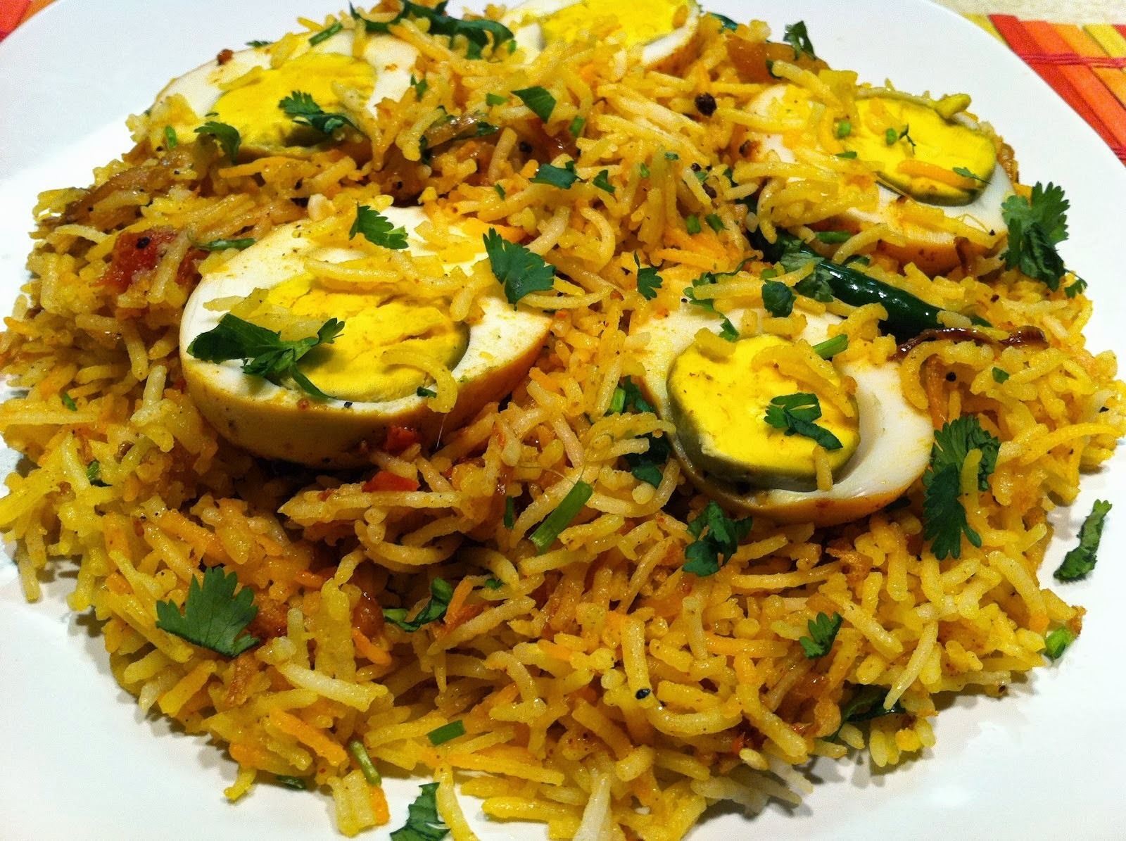INDIAN EGG BIRYANI RECIPE