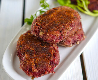 Beetroot Cutlet | Beetroot Tikki (Patties) | Easy Snacks Recipes