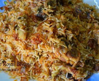 The Royal Mutton Biryani