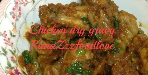 Chicken dry gravy
