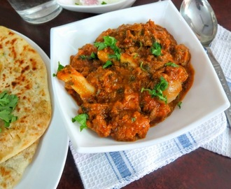 Mutton Gojju | Andhra Style Semi Gravy Mutton Curry