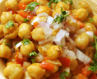 Channa (Chickpeas) Chaat