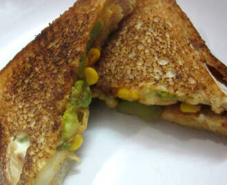Sweet Corn Sandwich