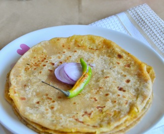 Aloo Paratha Recipe - Potato Stuffed Parathas