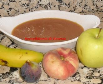 Recetas de conserva de platano mytaste - Macedonia de frutas thermomix ...