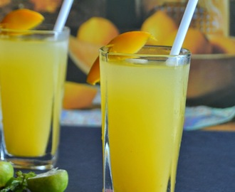Mango Lemonade - How to make Mango Lemonade