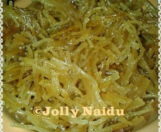 Sweet & Golden Vermicelli | Meethi Seviyan Recipe