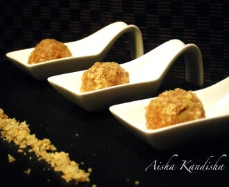 "MEMBRILLO ""ROCHER"" CON ARENA DE NUECES"