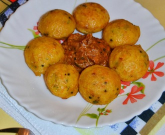 Masala Kuzhi Paniyaram Recipe  / Kara Kuzhi Paniyaram / Easy Snack recipes