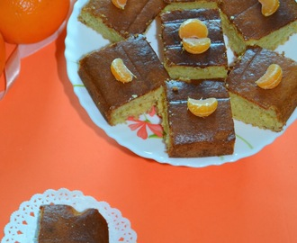 Eggless Orange Cake Recipe / Orange Zest Cake