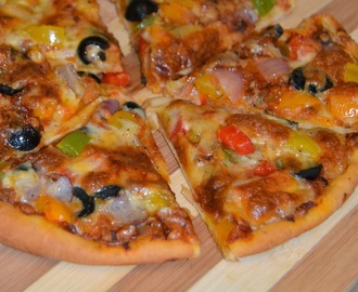 Homemade Veg Pizza