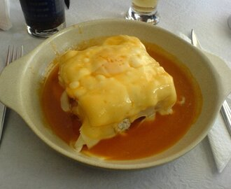 Francesinha a Moda do Porto