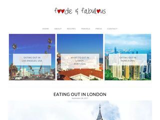 Foodie & Fabulous | Eat.. Travel.. Love.. And Eat some more!