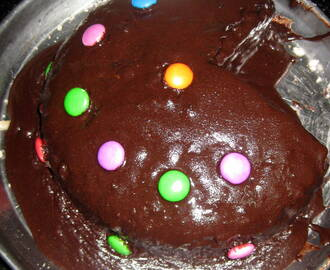 Eggless Chocolate cake -