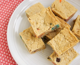 Peanut Butter Cookie Bars - Bake or Break