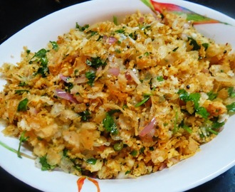 Spicy Awalakki (Beaten or Flattened Rice).