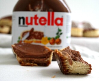 Nutella cheesecakes