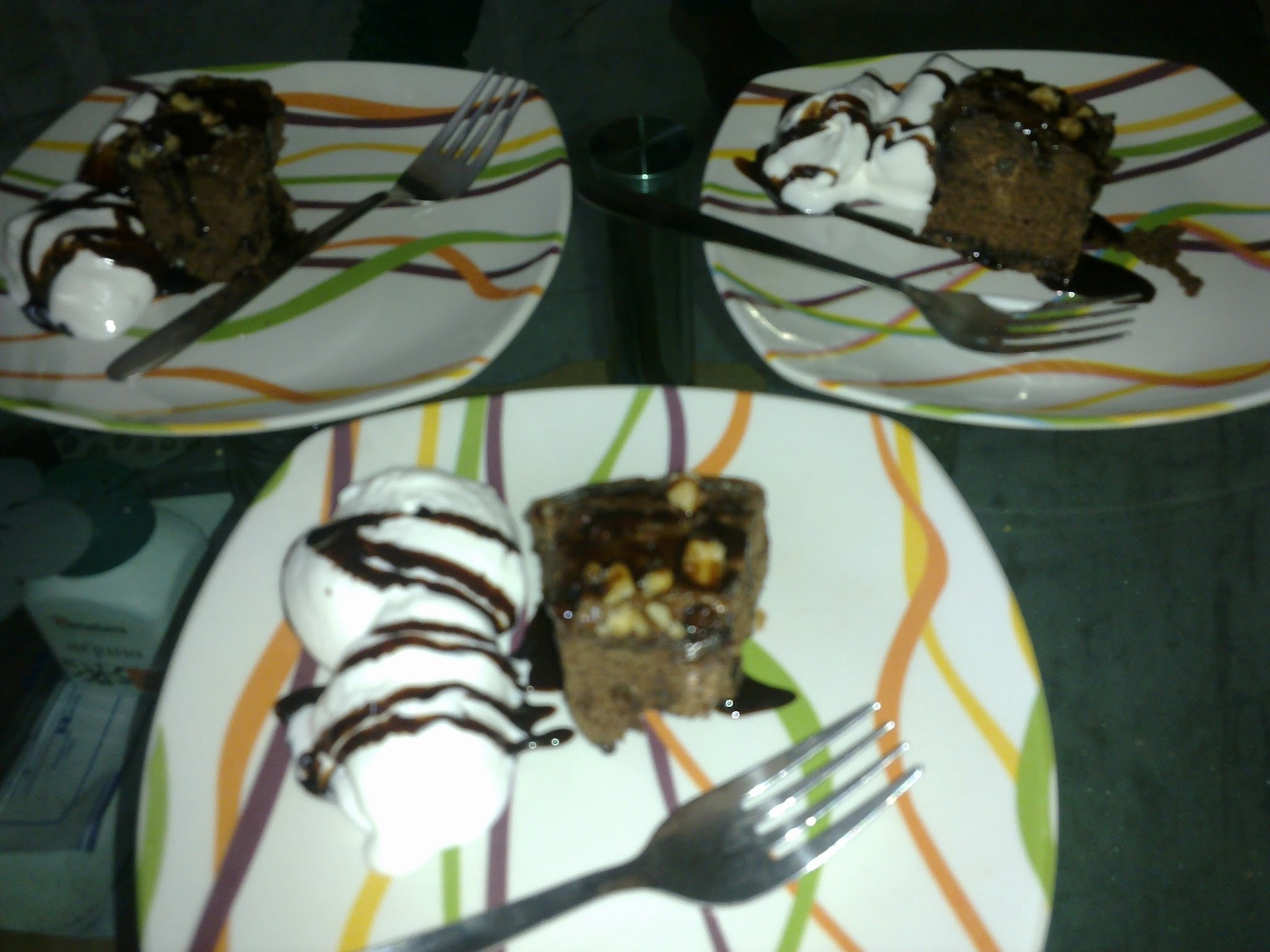 My Version of making Eggless Brownie