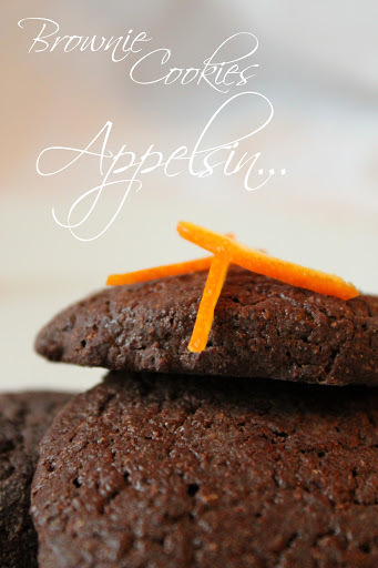 Brownie Cookies med Appelsin...