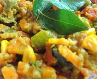 Vegetable medley...A nutritious healthy dish for toddlers  ( Kids recipe )