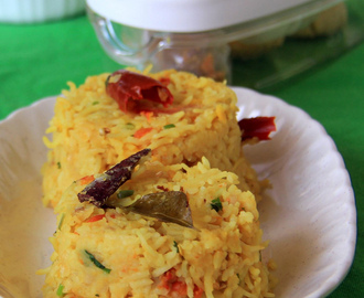 Arisi Paruppu Rice -Arisi Paruppu Sadham - Rice and thoor dhal rice