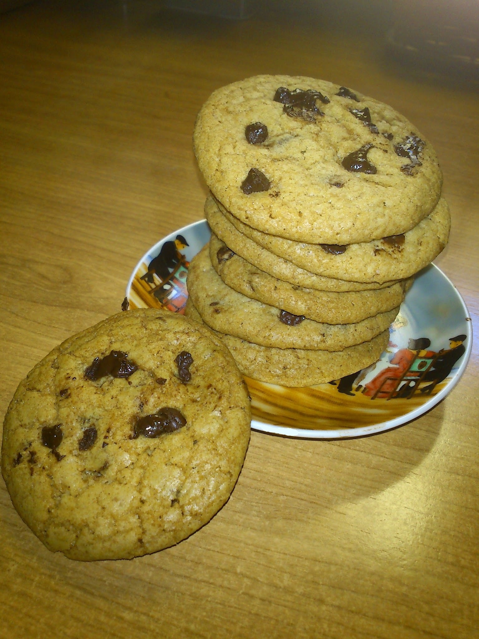 Receta: Cookies con pepitas de chocolate (Tipo Chips Ahoy)
