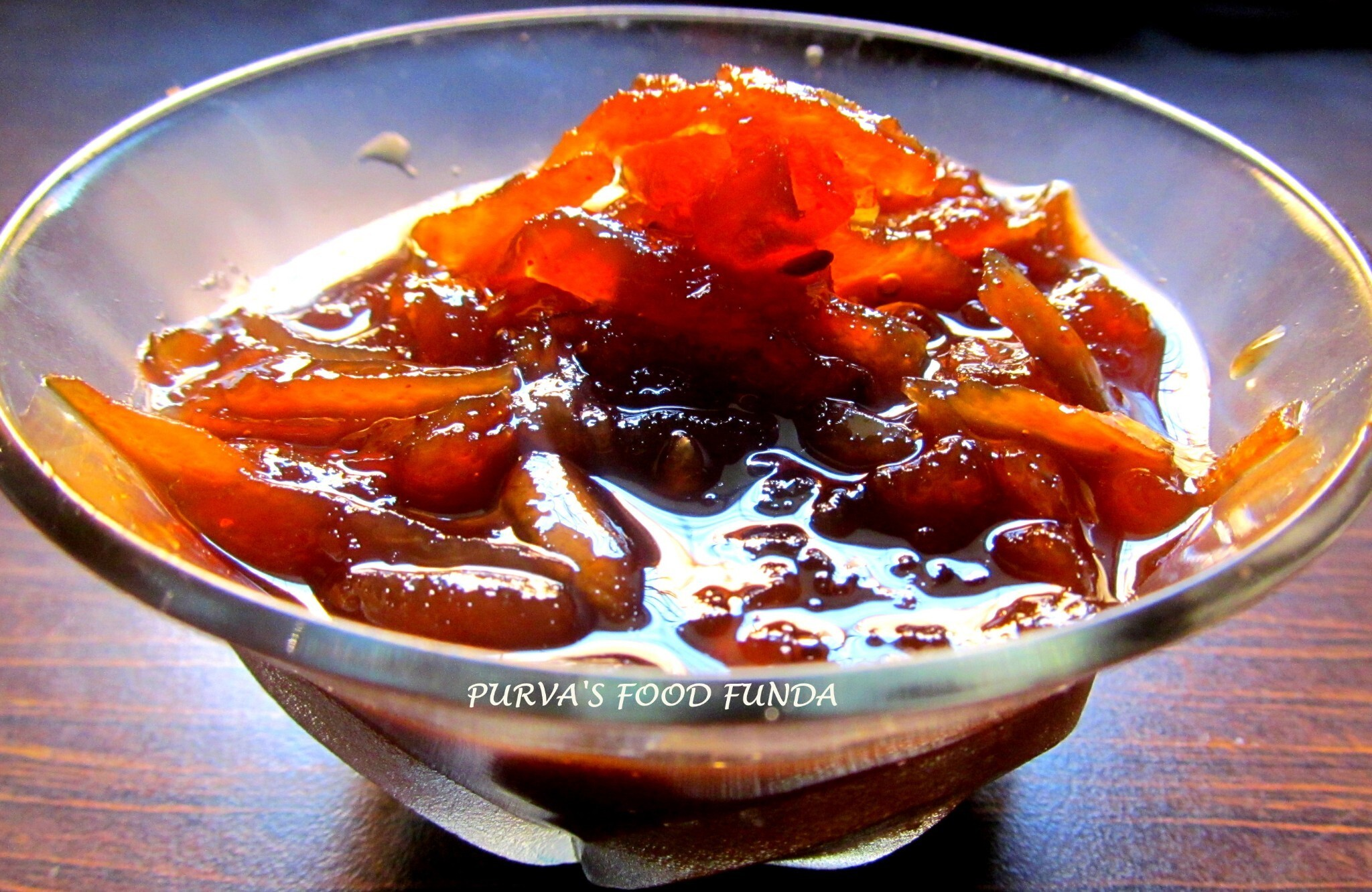 Chunda (Hot, Sweet N Sour Mango Pickle)
