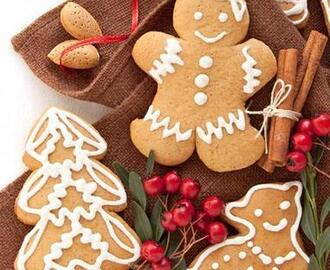 Ginger Christmas Cookies