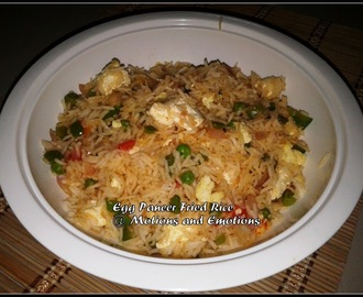 Egg Paneer Fried Rice