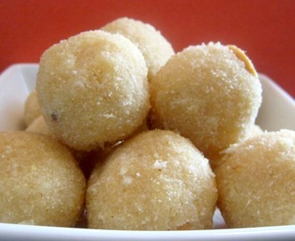 Bread Crumbs Laddu