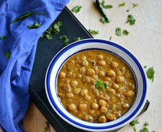 Channa Masala - South Indian Style