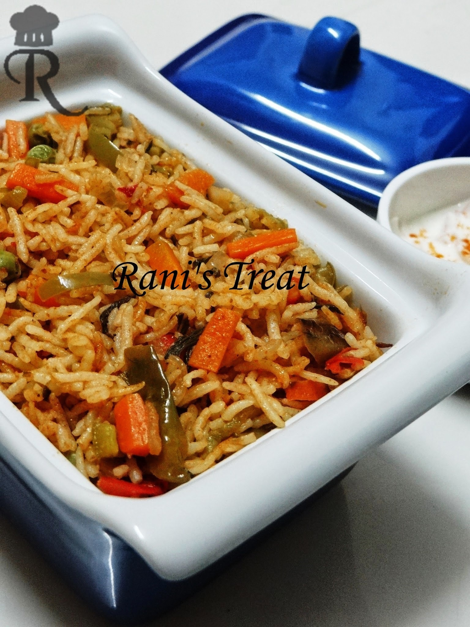 Vegetable Rice | Veg Masala Rice