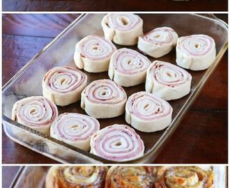 Hot Ham & Cheese Party Rolls | Hapjes | Pinterest | Cheese party, Hams and Cheese