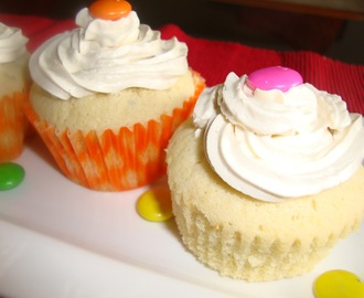 Vanilla Cupcakes with butter cream frosting