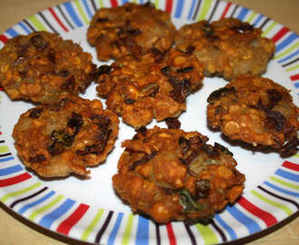 Oats Spinach Vadai