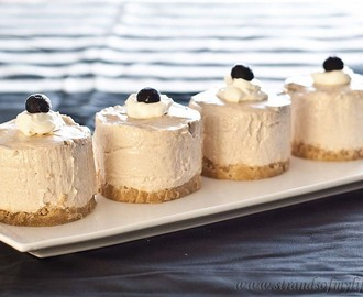 Banana Sour Cream Cheesecake – gluten-free and low FODMAP