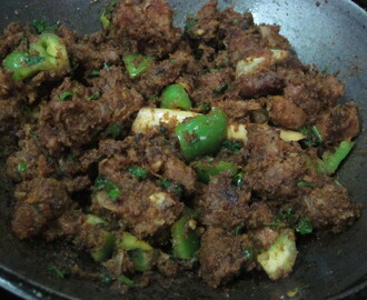 Mutton chilly fry