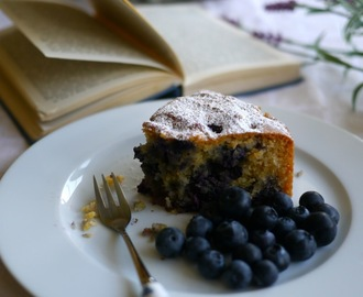 Blueberry and Coconut Cake (Gluten and Dairy Free)