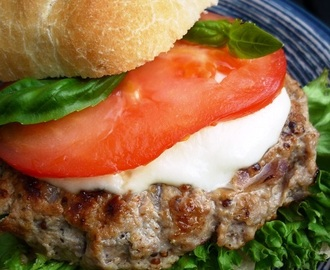 Recept Mozzarellaburger