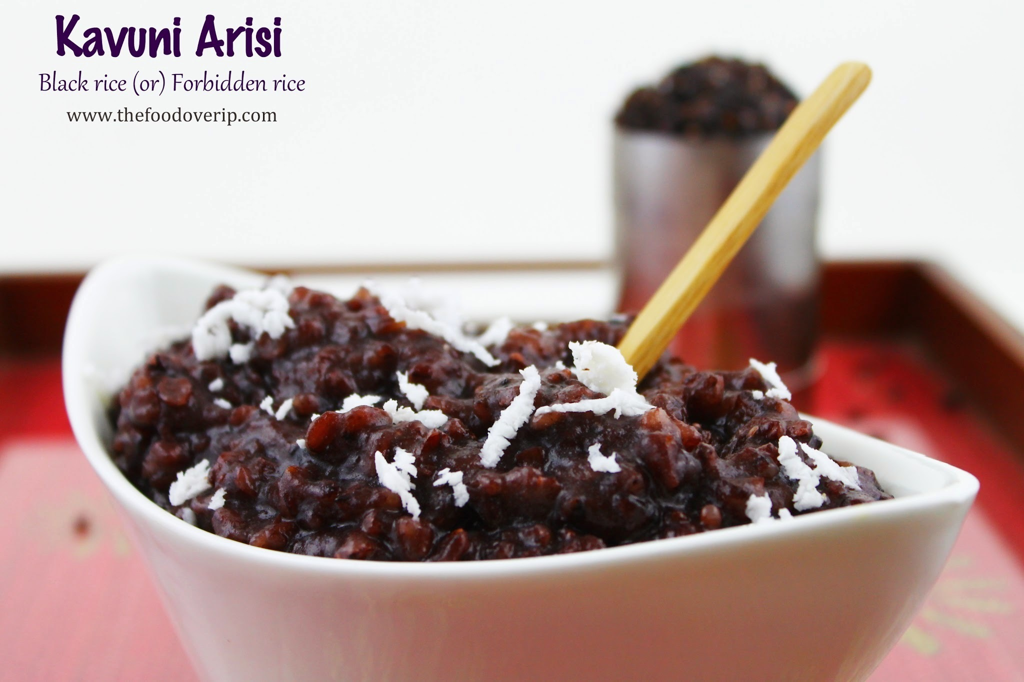 Chettinad Kavuni Arisi | Sticky Black Rice Pudding | Karthigai Deepam Special 2013