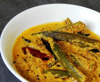 LadyFinger Mustard Curry | Bhindi Sarson  Masala | No Onion No Garlic