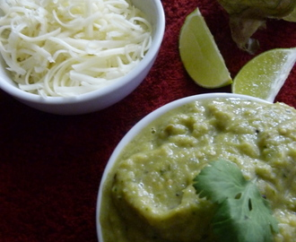 SALSA VERDE | MEXICAN GREEN CHILI DIP