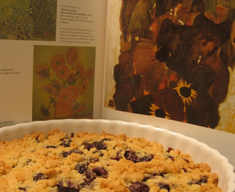 CRUMBLE DE CEREJAS