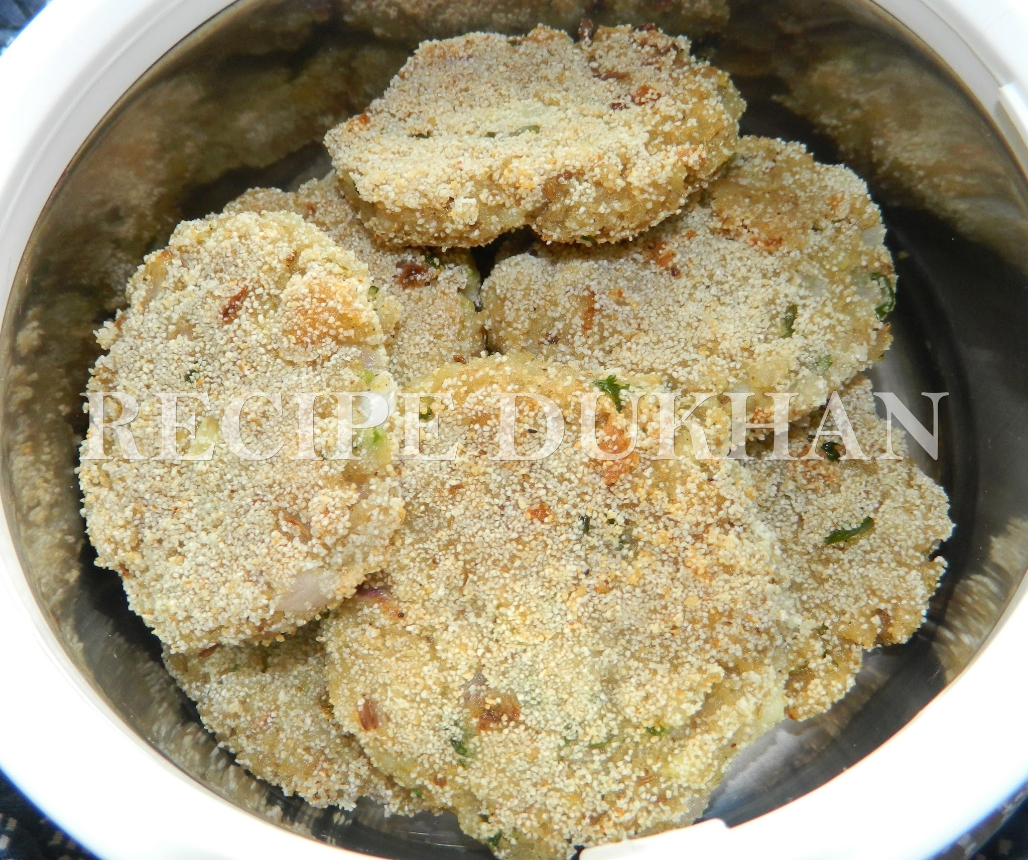 POHA AND OATS CUTLET