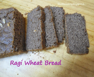 Ragi/ Finger millet and Wheat Flour Loaf Bread | Healthy Loaf | Diabetic Friendly Loaf-Low Glycemic Index